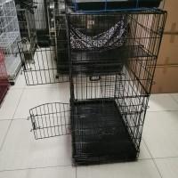 Kandang Kucing Octagon 3 Tingkat Dengan Ayunan Putriyane77