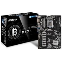 ASROCK MOTHERBOARD H110 pro BTC+