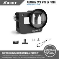 Aluminium Case GoPro Hero 5 6 7 Black Aluminium CNC Case Hero 5