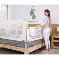 Pagar Pengaman Kasur Ranjang Bayi Baby Bedguard Bedrail Crib Fence