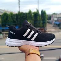 sepatu adidas hitam putih climacool import 39-44