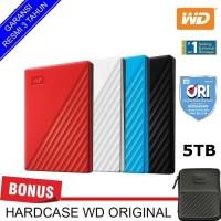 WD My Passport 5TB - HD HDD Hardisk Eksternal External 2.5 USB 3.0