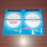 Bahasa Korea Terpadu untuk Orang Indonesia Jilid 4 (Non Original)
