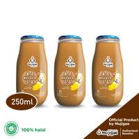 PAKET ISI 3 - Mujigae Banana Milk Chocolate 250 mL / Susu Pisang