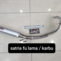 knalpot DBS satria fu lama satria fu karbu original Thailand