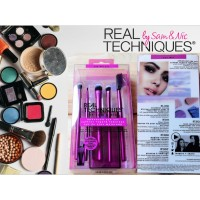 Real Techniques Enhanced Eye Set Make Up Brush Kuas Dandan RT