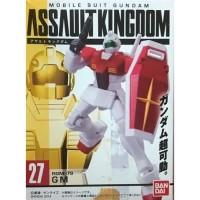Assault Kingdom 07 RGM-79 GM Gundam Bandai Mini Figure Gunpla