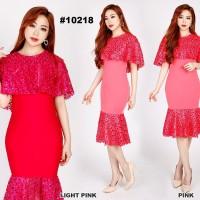 Baju Nyanyi / Baju Penyanyi / Midi Dress / Dress Kode 10218