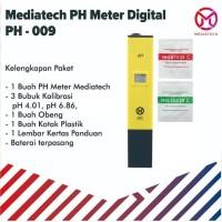 Mediatech pH Meter Digital Tester Hidroponik / Akuarium / Kolam Renang