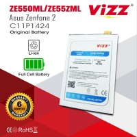Baterai Batre Vizz Asus Zenfone 2 5,5inci ZE550ML ZE551ML Z00AD Z008D