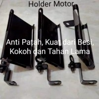Holder HP Motor Dari Besi Plat Ojol Ojek Online
