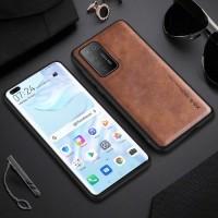 Case Huawei P40 Pro X-level Premium Leather Case Original - Coklat