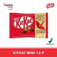 Cokelat Kitkat Mini 12P Original Milk Choco