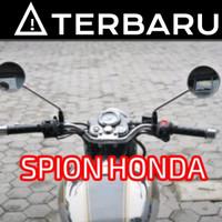 SPION MOTOR BULAT   MOGE   RETRO   MONKEY UNTUK ALL HONDA