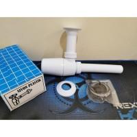 Sifon Botol PVC Afur Pembuangan Air Wastafel Plastik
