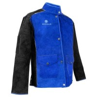 Jaket Las Kulit Asli/Baju las/Apron Las leather jaket welding size L