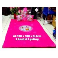 Karpet Bulu Karakter Lol Uk 180X120 Cm Tebal 3,5 Cm Bahan Halus Lk15