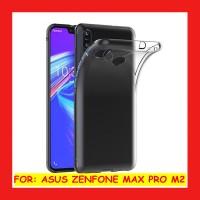 Asus Zenfone Max Pro M2 ZB631KL - Clear Soft Case TPU Casing Cover