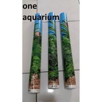 Background T40cm 1 roll wallpaper aquarium tinggi 40cm 1 roll