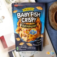 Baby fish crispy Bandung pedas jeruk 150gr
