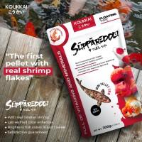 Pakan Ikan Koukkai Pelet Dengan Udang Asli 300gr Koukkai Supparedo