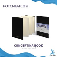 Potentate Watercolor Concertina Book