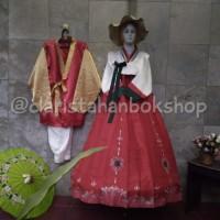 hanbok couple baju adat tradisional korea hambok costume kostum ag04