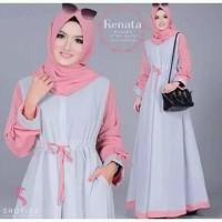 Baju Gamis Muslim Syar'i Gamis Renata
