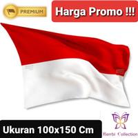 Bendera Merah Putih 100x150 CM (Untuk Sekolahan atau Kantoran