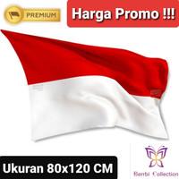 Bendera Merah Putih Ukuran 80x120 CM (Untuk Depan Rumah)