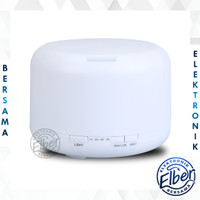 ELBER Humidifier 500ML/300ML Ultrasonic Aroma Diffuser Colorful LED