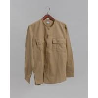 Adam Linen Shirt in Beige