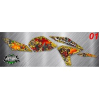DECAL STICKER STRIPING VIXION NEW 2013 01