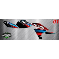 DECAL STICKER STRIPING VIXION NEW 2013 03