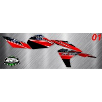 DECAL STICKER STRIPING VIXION NEW 2013 06