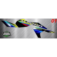 DECAL STICKER STRIPING VIXION NEW 2013 04