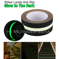 Lakban Fosfor lantai Anti slip Tangga Glow in the dark Safety Walk