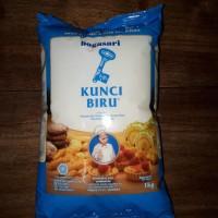 Tepung terigu bogasari kunci biru 1 kg