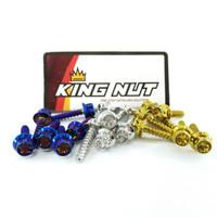 Baut Filter Honda Yamaha Universal Probolt Stainless Thailand King Nut - Gold, Flower