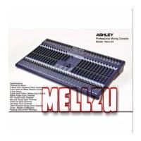 Mixer Ashley Hero 24 Channel Multi Effect 199dsp Original Product