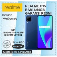 REALME C15 RAM 4/64GB   6000mAh BATTERY   GARANSI RESMI 1 TAHUN