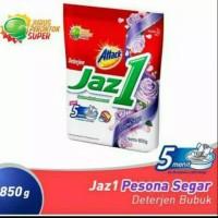 Jaz 1 detergen bubuk sabun cuci baju 850 g