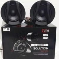 Speaker Mobil 3.5 Cello Surround 1 Solution - Cone Speaker Audio Mobi