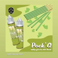 Pock Q 3mg 60ml Matcha Greentea Cream Stick by Espe Juice Liquid Vape
