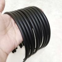 Bando Polos Doff Black Premium / Hairband Korea