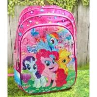 Jual Tas Sekolah Anak SD My Little Pony Sequin Berkualitas