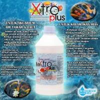 Bakteri Penjernih Aquarium Tawar/Laut dan Kolam Koi Xtroplus 1 Liter