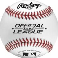 TAM_ Rawlings Official League Logo Baseball Bola Ball