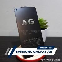 SAMSUNG GALAXY A11 Anti Glare Full Cover Premium Matte Tempered Glass