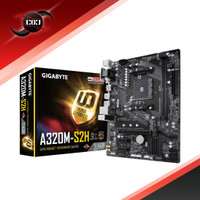 Gigabyte GA-A320M-S2H (AM4, AMD Promontory A320, DDR4, USB3.1, SATA3)